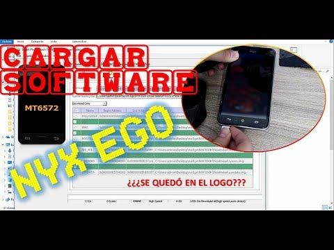 CARGAR SOFTWARE NYX EGO - SP FLASH TOOL