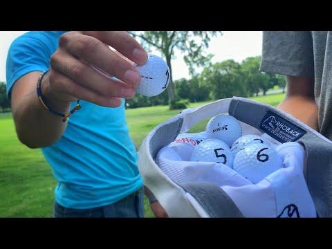 Random Golf Hole Challenge With GM Golf | Loser Gives $50 To Random Stranger