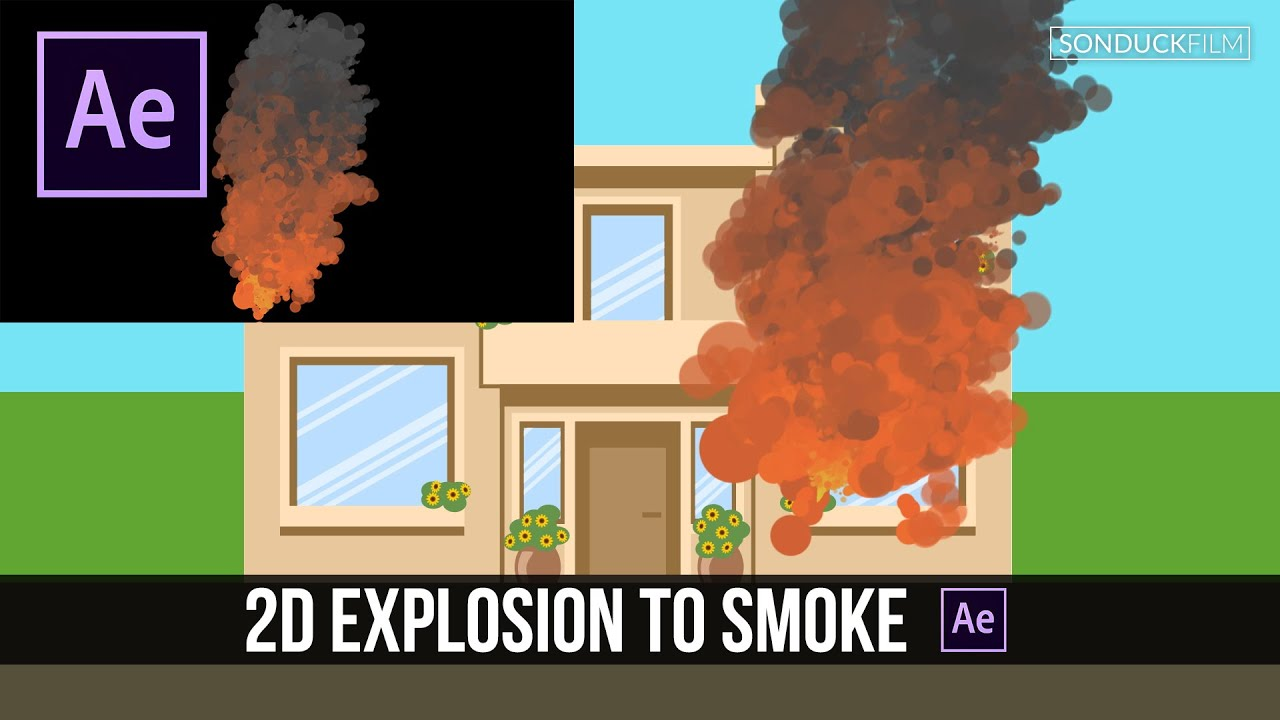 how to make smoke in after effects tutorial