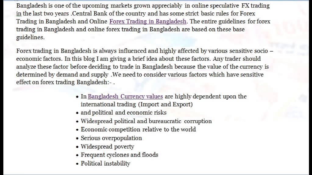 Best Online Brokers for Traders in Bangladesh ()