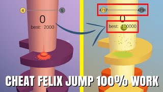 WORK 100% HOW TO CHEAT GAME HELIX JUMP NO ROOT!