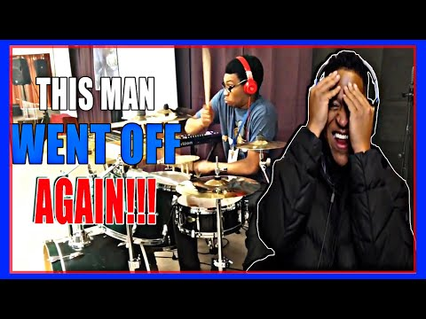 Drummer Reactions - Kaarlo Conley / John P Kee-Rain On Us (Drum Cover)