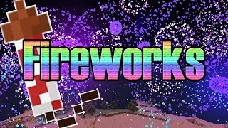 Minecraft New Year Fireworks | 7000+ Fireworks | Happy New Year!