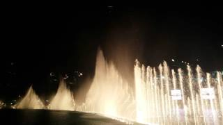 Dubai Fountains Bassbor Al Fourgakom - Hussain Al Jassmi