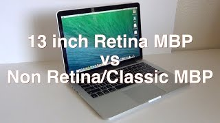 13in Retina Macbook Pro vs Non Retina Macbook Pro