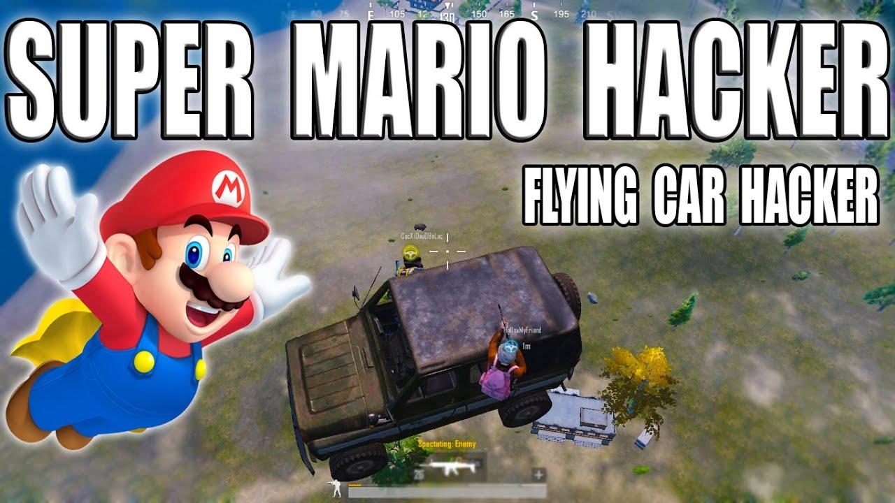 FLYING CAR HACKER & SUPER MARIO HACKER - IN PUBG MOBILE || DevilGaming-YT