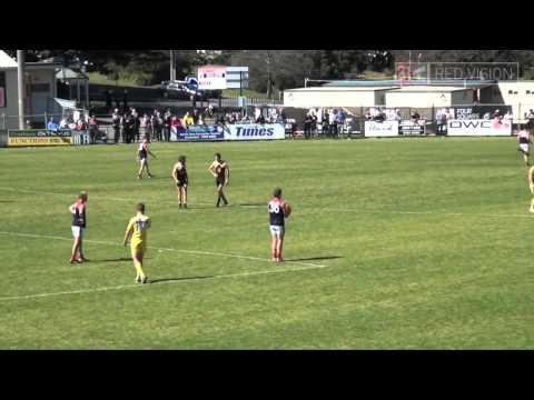 Mt Eliza Grand Final Goal after Siren 2014 in local AFL