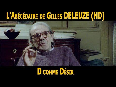 L Abecedaire De Gilles Deleuze D Comme Desir Hd Youtube