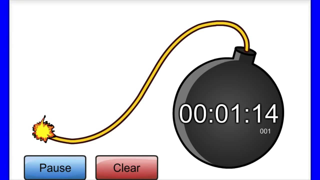Stopwatch countdown