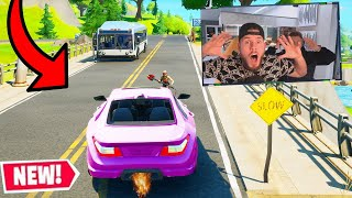 erstes AUTO GAMEPLAY in Fortnite!
