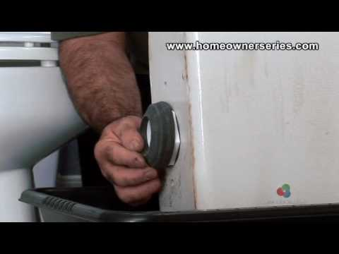 How To Fix A Toilet - Flush Valve Replacement - Part 2 Of 2