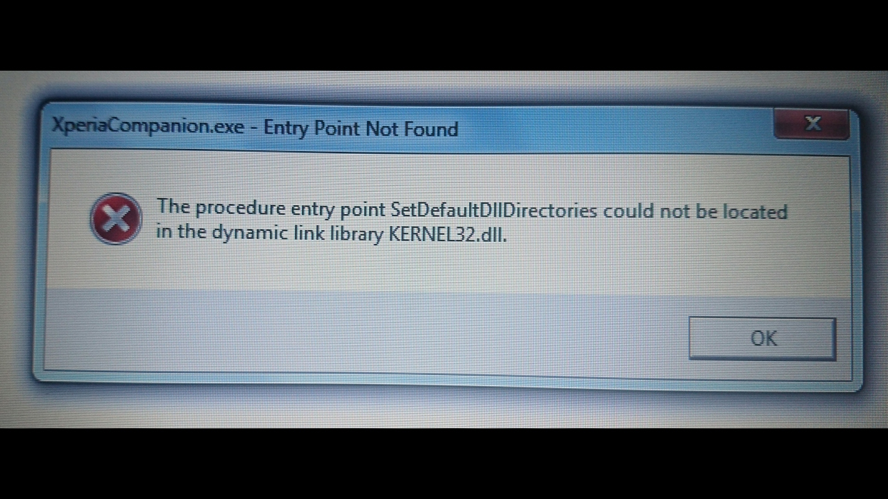 Sony PC/Xperia Companion Error (Kernal32 dll) Solved in Few Minutes