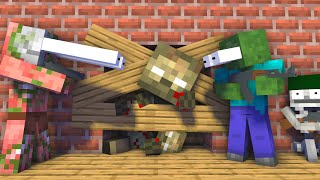 Monster School : ZOMBIE APPOCALYPSE NEW - Minecraft Animation