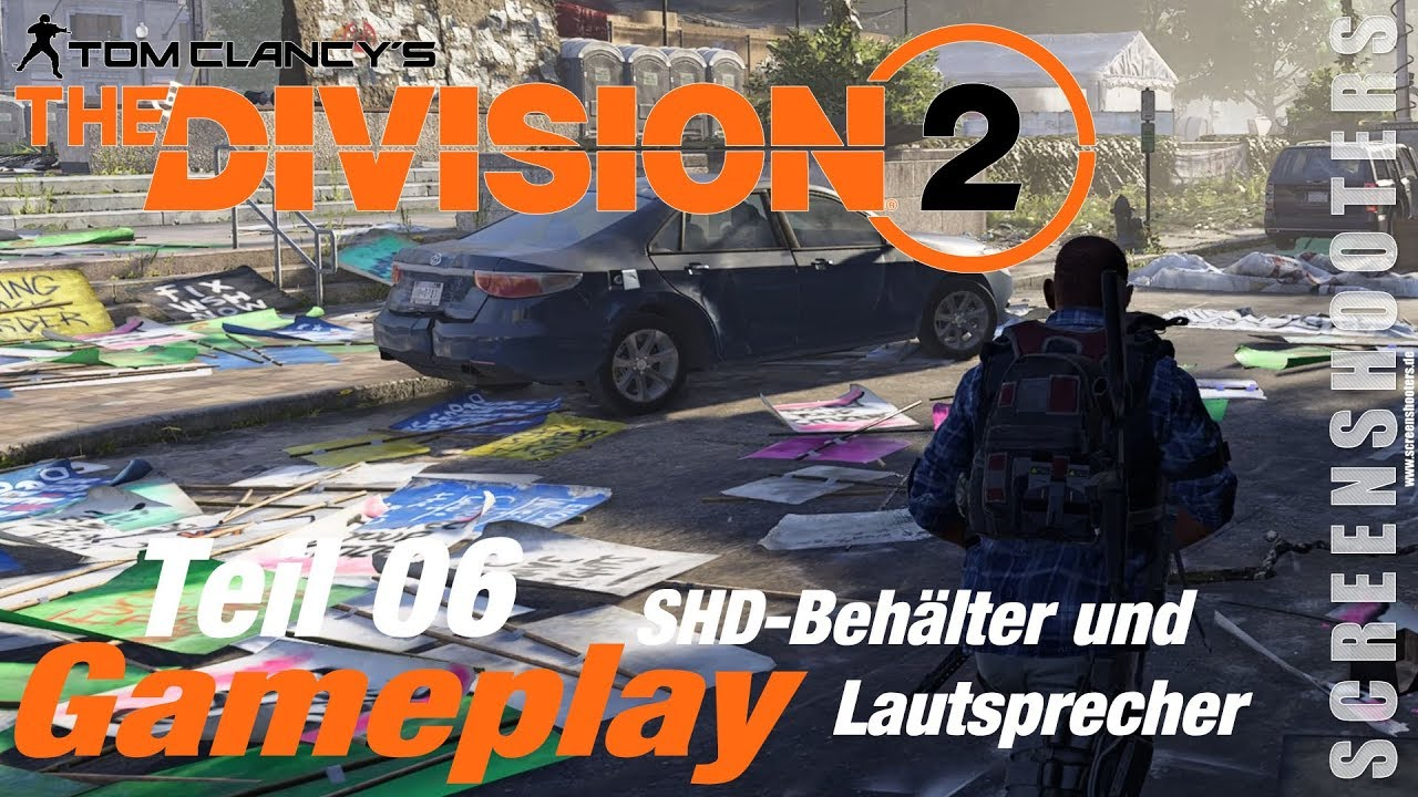 the division 2 shd behälter