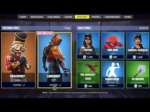 *NEW* FORTNITE ITEM SHOP COUNTDOWN! December 8th - New Skins! (Fortnite Battle Royale)