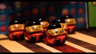 Bbuddieez Beefy Bowling Stop Motion Toys