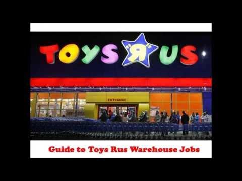 Toys Rus Warehouse Jobs