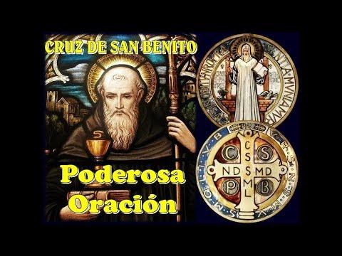 CRUZ DE SAN BENITO  PODEROSA  ORACIÓN (ENGLISH SUBTITLES)