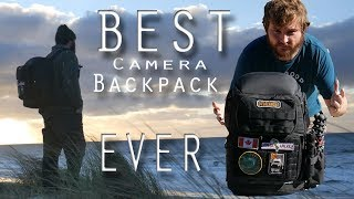 THE BEST CAMERA BACKPACK EVER! LOWEPRO - PROTACTIC REVIEW