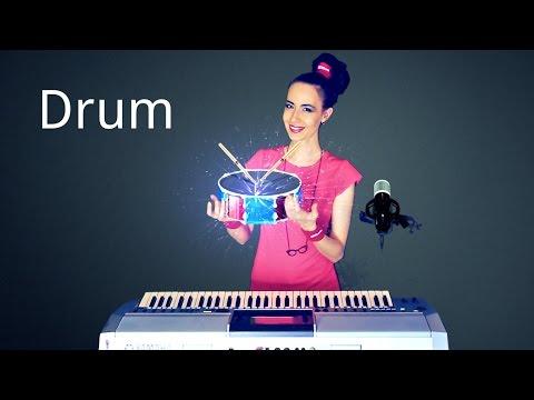 Ударные инструменты на клавишном. Risha Manis.