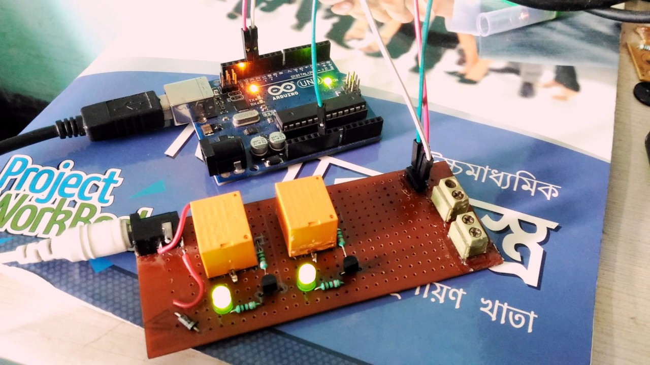 12v relay for arduino