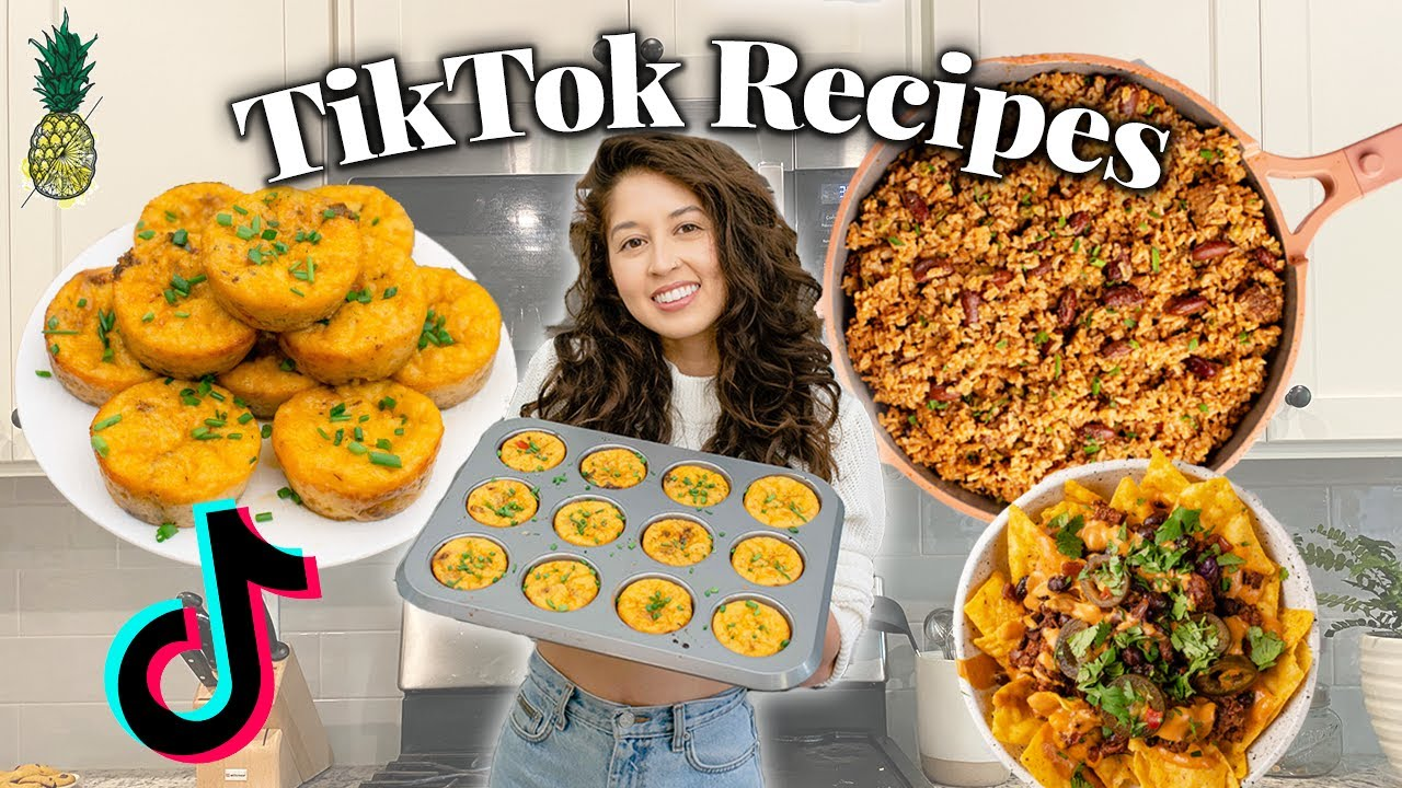 Testing Popular Tik Tok Recipes (Vegan)