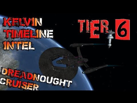 Kelvin Timeline Intel Dreadnought Cruiser [T6] with all ship visuals - Star Trek Online