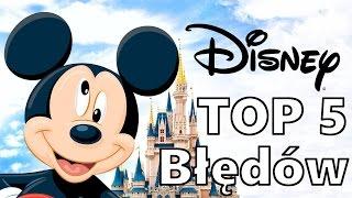 TOP 5 Błędów wBajkach Disneya (gościnnie: Cyprian)
