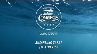 Presentación Travesía Salome Campos 2017 | 2017 Salome Campos Igeriketaren aurkezpena