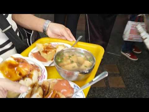 台中第二市場吃好料 菜頭粿 糯米腸 三代福州意麵 背包客輕旅行