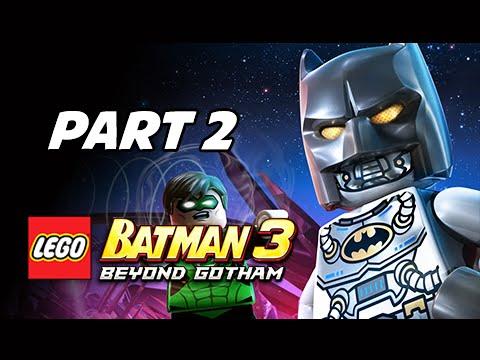 Lego Batman 3 Beyond Gotham Walkthrough Part 2 - Space Suits You Sir ...