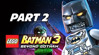 Lego Batman 3 Beyond Gotham Walkthrough Part 2 - Space Suits You Sir! (Let's Play Commentary)