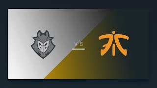 CS:GO - G2 vs. fnatic [Inferno] Map 2 - EU Matchday 3 - ESL Pro League Season 7