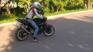 Дрифт на мотоцикле