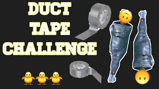 Layers of Duct Tape Challenge! | Alejandra Gutierrez