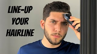 How To Line-Up Y๐ur Hairline Tutorial 2020