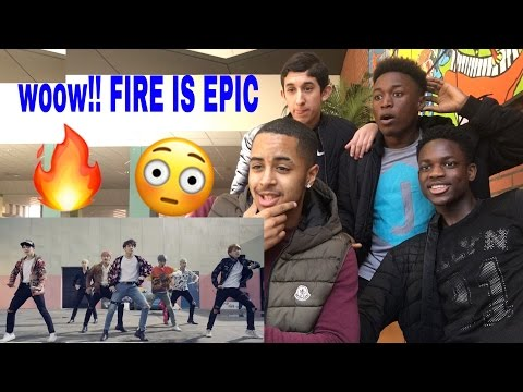 STUDENTS REACT TO BTS FIRE MV AT SCHOOL