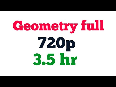 GEOMETRY CAPSULE ALL CONCEPTS IN 1 VIDEO FOR SSC II BANK II UPSC II CAT II MAT II ALL GOVT EXAMS   Y