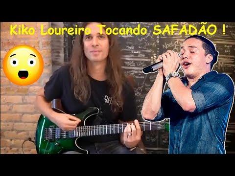 Kiko Loureiro tocando Wesley SAFADÃO !!