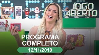 Jogo Aberto - 12/11/2019 - Programa completo