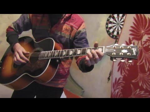 Гитара из Китая Gibson J 200 Jumbo