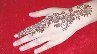 Simple Easy Mehandi design   Bail Beautiful Henna For beginners in 5 minutes