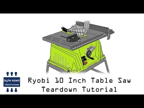 Ryobi bt3000 motor for Table saw replacement motor