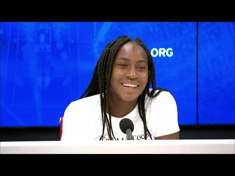 Coco Gauff: 'She was crying, I was crying, everybody was crying!' | US Open 2019 R3 Press Conference