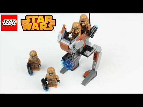 LEGO STAR WARS THE CLONE WARS GEONOSIS TROOPERS ★ LEGO Star Wars Speed Build/Review [Deutsch]