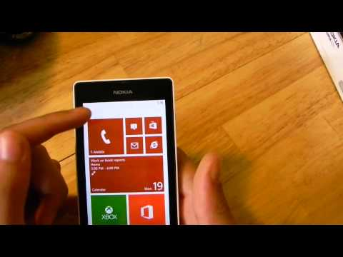 Nokia Lumia 521 Quick Review (In 720p HD)