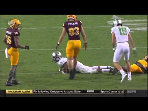 Oregon Ducks vs Arizona State- Ducks Highlights 10/29/2015