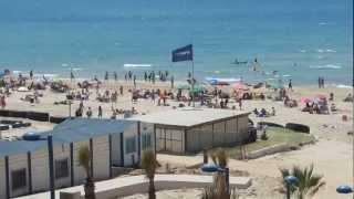 ראשון לציון חוף הים HD