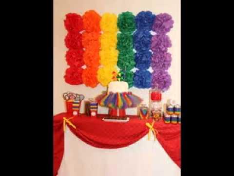 Easy DIY Rainbow Party Decorating Ideas