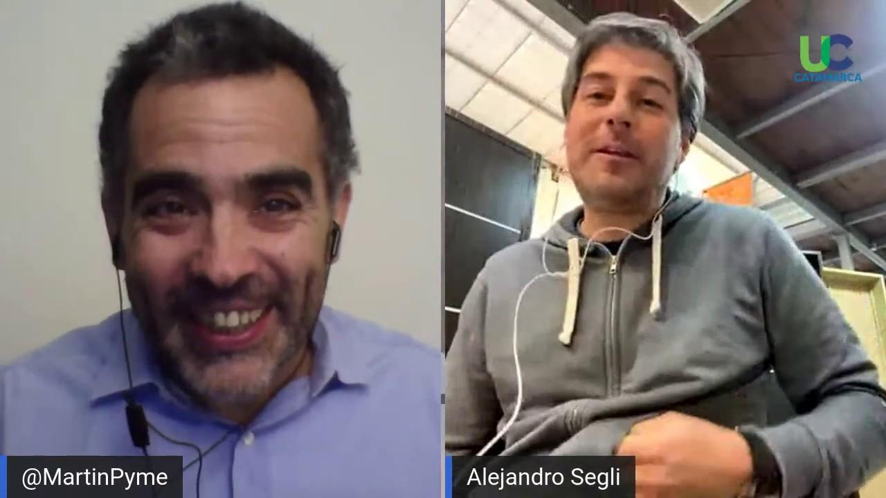 Unión Comercial de Catamarca presenta a Martín Quirós , especialista en Pymes y Empresas Familiares